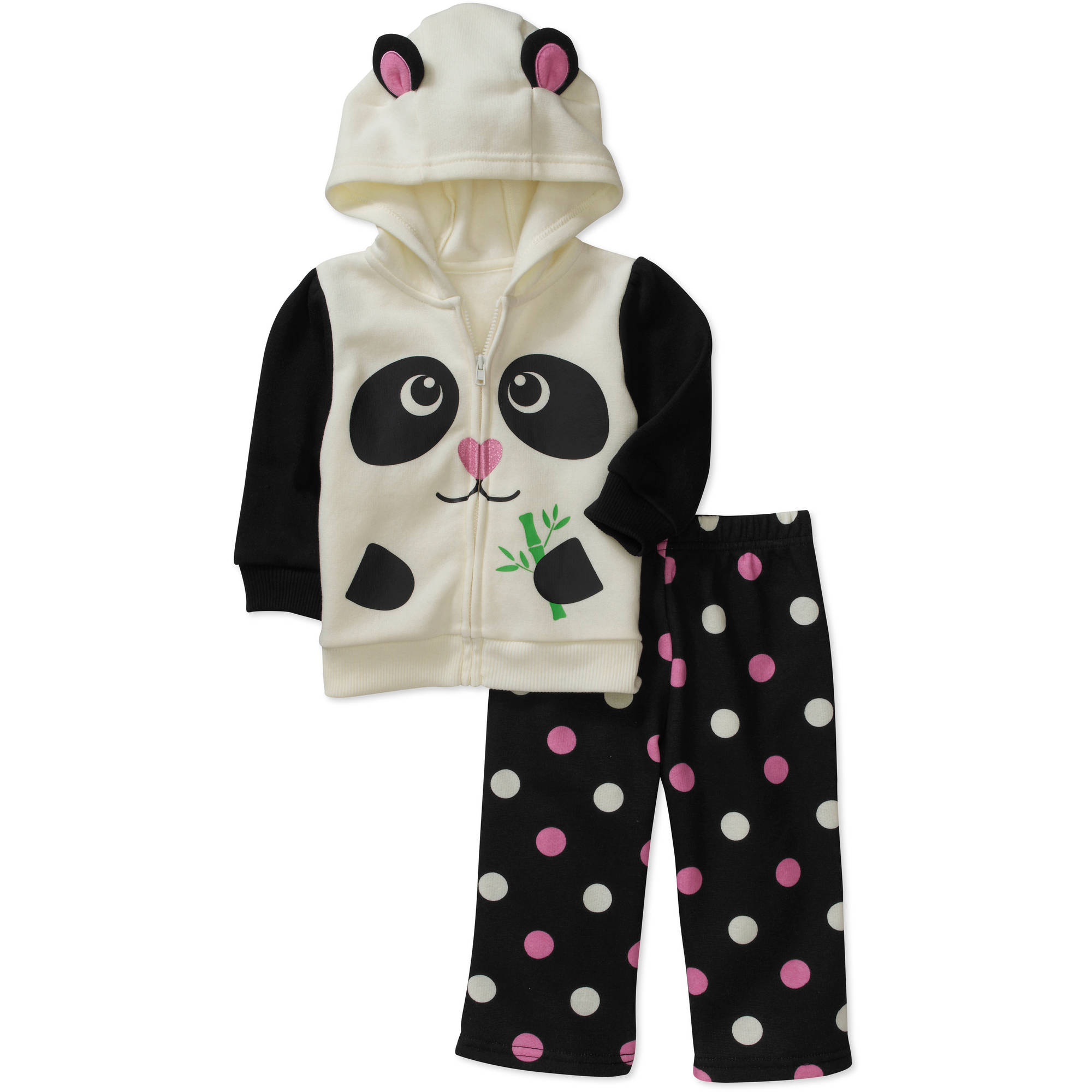 George Newborn Girls' 2 Piece Critter Ho