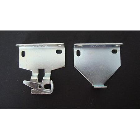 Rollease RB580 Roller Shade Bracket Set, Zinc / 2