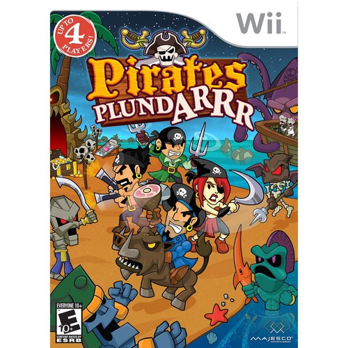 PIRATES PLUND-ARR WII Game ~ Ahoy Matey!