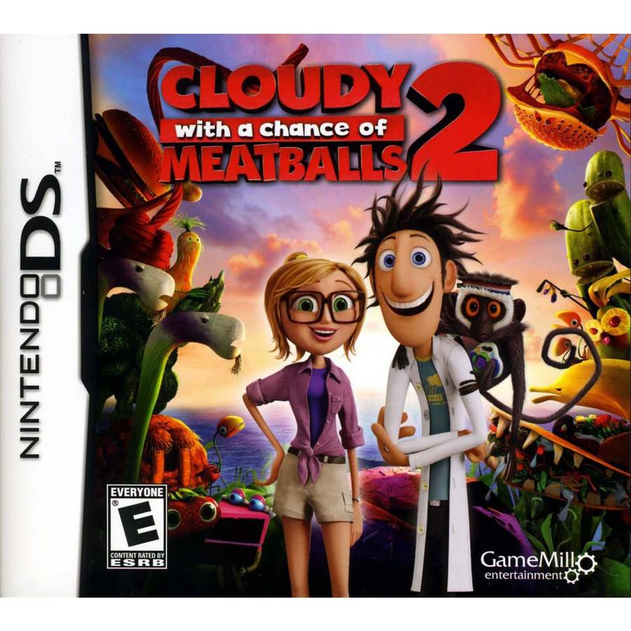 Cloudy Chance Meatballs 2 (DS)
