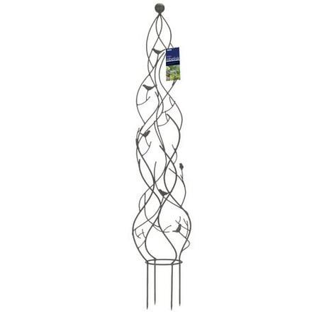 World Source Partners Nature Metal Obelisk Trellis