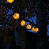 Allsop Home and Garden Aurora Glow Solar String Light
