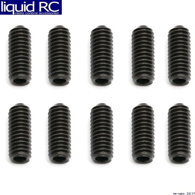 Associated 31449 M4x10mm Set Screws (10)