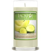 Cucumber Melon Candle with Ring Inside (Surprise Jewelry Valued at $15 to $5,000) Ring Size 8