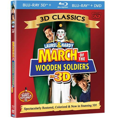 March Of The Wooden Soldiers (3D Blu-ray + Blu-ray + - Wooden Soldier Sale