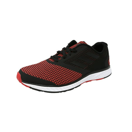 Adidas Men's Edge Rc Black / Red Ankle-High Running Shoe -