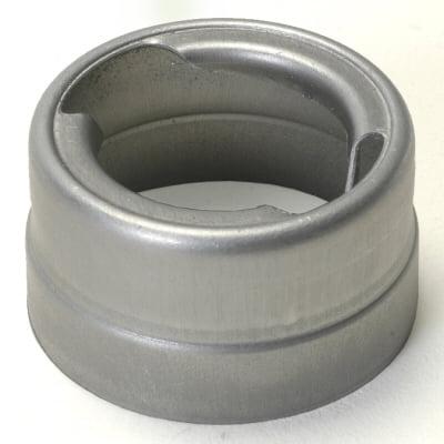 Weld On Aluminum Fuel Tank Filler Neck For Quarter Turn Fuel Cap 2.375 Diameter