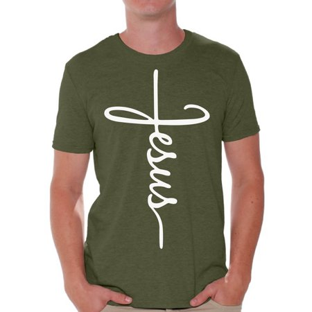 Awkward Styles He Is Risen Shirt for Men Christian Shirts for Men Happy Easter Gifts for Him Easter Christian Outfits Jesus T Shirt Bible Verse Matthew 28:6 Men's Easter Tshirt Easter Theme T-Shirts
