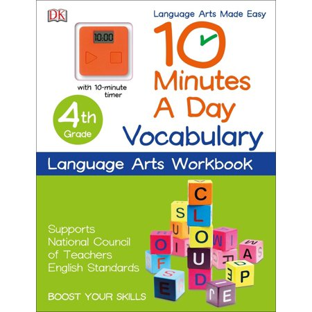 10 Minutes a Day: Vocabulary, Fourth Grade : Supports National Council of Teachers English Standards](Halloween Worksheets For 4th Grade)
