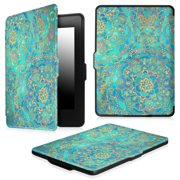 Fintie SlimShell Case for Amazon Kindle Paperwhite Gen Prior to 2018, Not Fit All-new Paperwhite 10th Gen,Shades of Blue