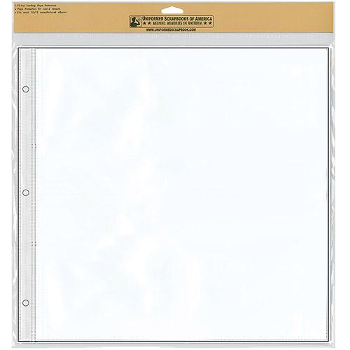 Uniformed Scrapbooks Keepsake Album Refill Sheets