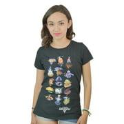 Kingdom Hearts Worlds Black Licensed T-shirt NEW Sizes XS-XL