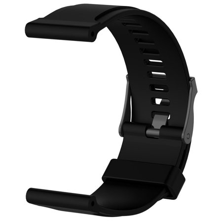 Luxury Rubber Watch Replacement Band Strap For SUUNTO CORE Outdoor Watch BK
