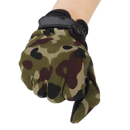 Outdoor Sport Mitten Camouflage Game Training Multifunctional Universal Honorable Person CS Riding Non-slip Glove - image 3 de 5