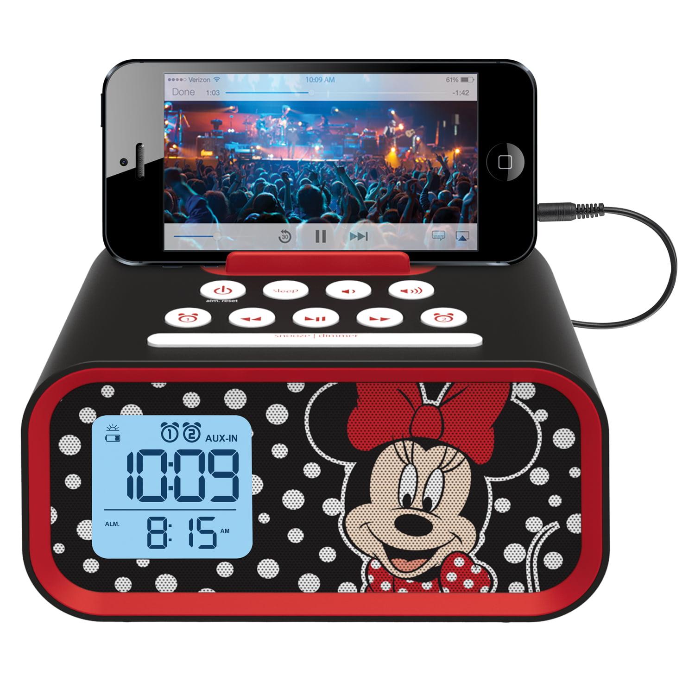Kiddesigns EK-DM-M23 Minnie  Mouse Line in USB Alarm Clock