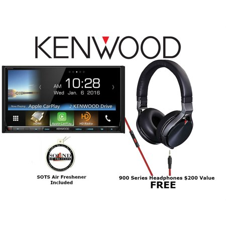 Kenwood Excelon Ddx9903s W  Kh Kr900 In Dash 6 95   Wvga Double Din Dvd Receiver With Free Headphones