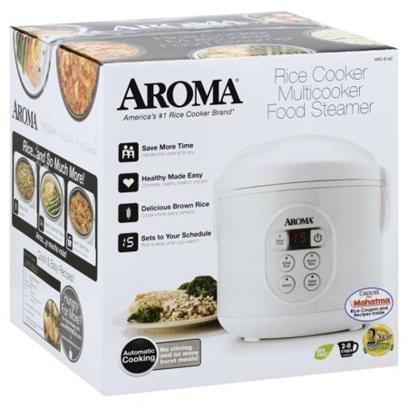 Aroma Arc 914d 4 Cup Cool Touch Rice Cooker White