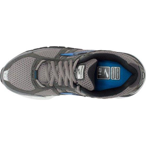 6125a11bb17 Brooks - Brooks Men s Addiction 12 Mako Anthracite Brooks Blue Sneaker 15 4E  - Extra Wide - Walmart.com
