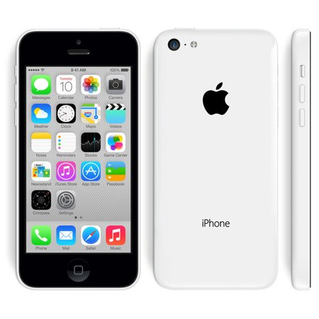 Apple iPhone 5c White 16GB Fully Unlocked (Certifies Refurbished,Good Condition)