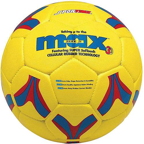 SportimeMax ProRubber Soccer Ball, Size 4