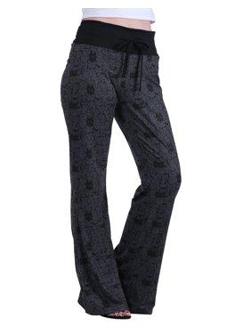 HDE Women's and Women's Plus Cotton Pajama Pants Wide Leg Sleepwear Casual Loose Lounge PJ Bottoms