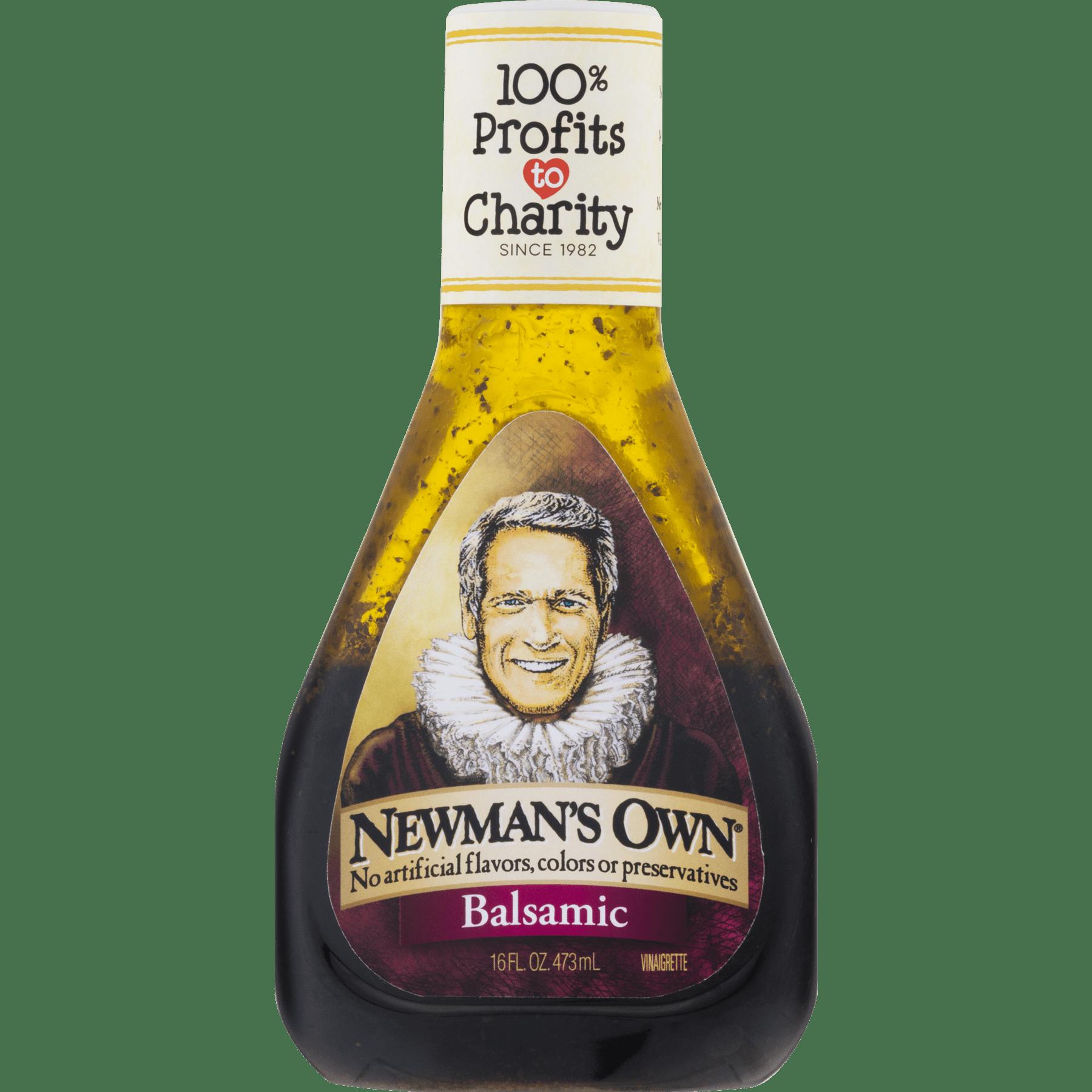 (2 Pack) Newman's Own: Balsamic Vinaigrette, 16 Oz