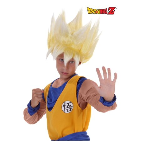 Child Super Saiyan Goku Wig](Red Wig For Kids)