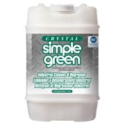 Simple Green Crystal Industrial Cleaner/Degreaser, Clear, 1 Each (Quantity)