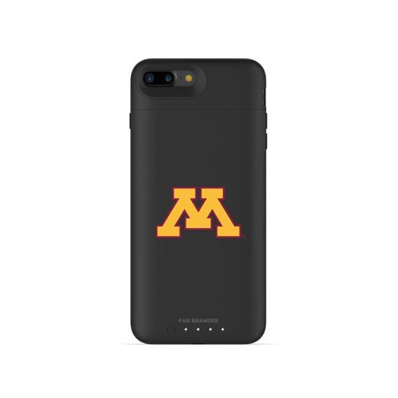 Mophie IPH-87P-BK-JPA-MGU-D101 Black Juice Pack Air Case with Minnesota Golden Gophers Primary Mark Design for iPhone 8 Plus & iPhone 7 Plus - image 1 of 1