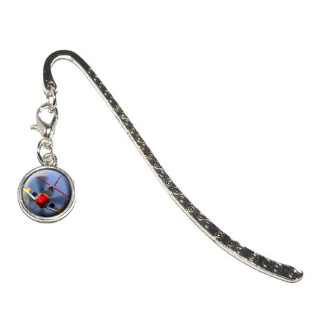 World War 2 II Fighter Plane Aircraft Metal Bookmark with