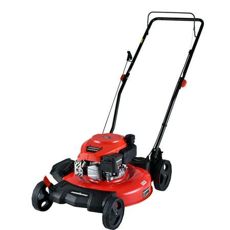 """PowerSmart DB2194CR 21"""" 2-in-1 170 cc Gas Push Lawn Mower"""
