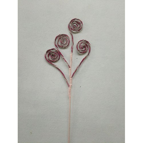 The Holiday Aisle Pick with Four Swirl Branch (Set of 8)