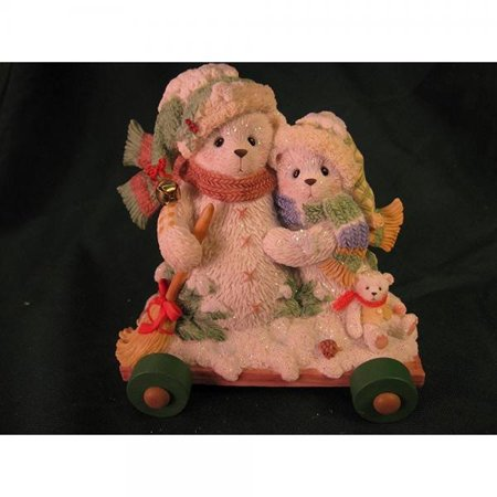 - Cherished Teddies.......... Ursula and Bernhard... In The Winter We Can Build A Snowman