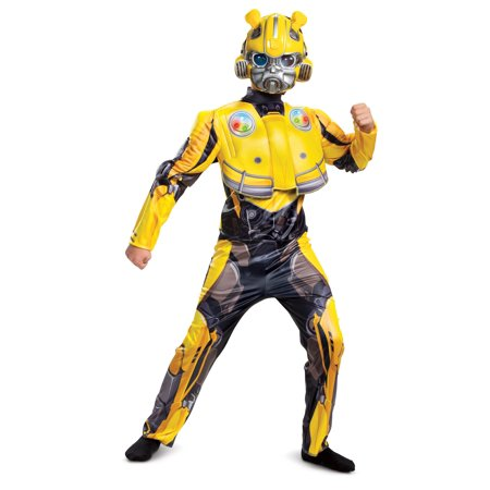 Light Up Stickman Halloween Costume (Bumblebee Movie Light-Up Deluxe Child)