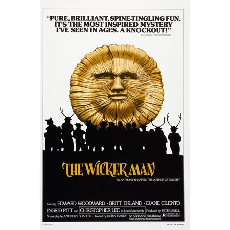 The Wicker Man Us Poster 1973 Movie Poster Masterprint ()