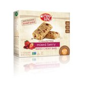 Enjoy Life Mixed Berry Baked Chewy Bars, 1 oz, 5 count, (Pack of 6)