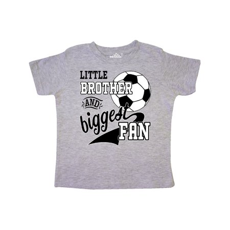 Little Brother and Biggest Fan- soccer player Toddler T-Shirt