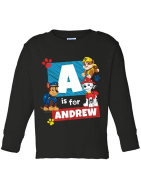 Personalized PAW Patrol Toddler Long Sleeve Tee