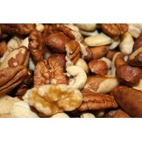 BAYSIDE CANDY MIXED NUTS DELUXE RAW UNSALTED, 1LB