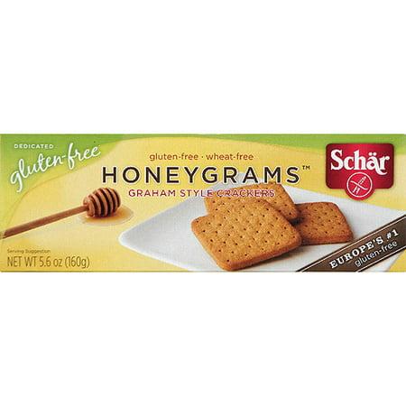 Schar Honeygrams Gluten-Free Graham Style Crackers, 5.6 oz, (Pack of ...