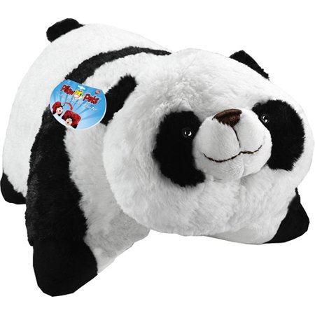 As Seen on TV Pillow Pet Pee Wee, Comfy Panda - Walmart.com