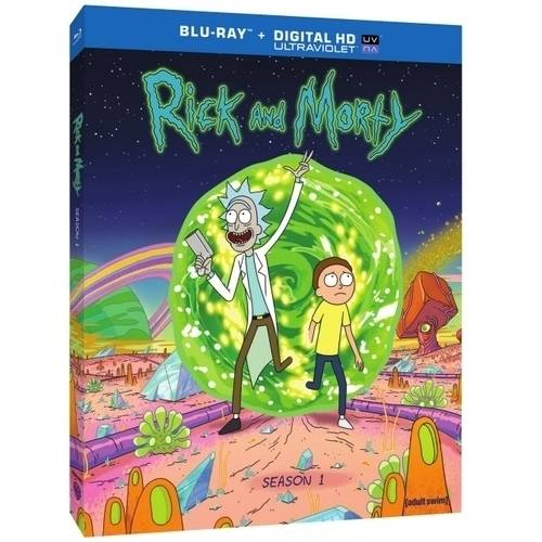 Rick And Morty: The Complete First Season (Blu-ray + Digital HD) (With UltraViolet)