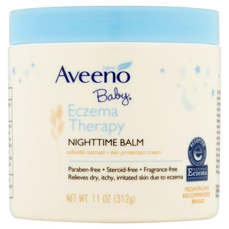 Aveeno bébé Eczéma thérapie Baume de nuit, 11 Oz