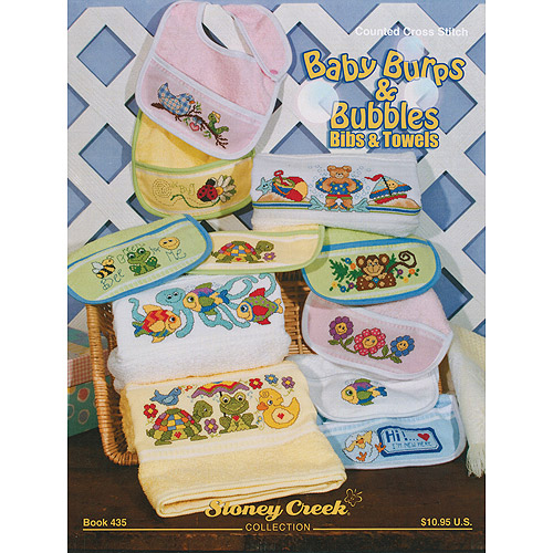 Stoney Creek Baby Burps & Bubbles Bibs & Towels