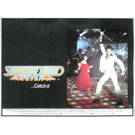 Saturday Night Fever (1977) 11x17 Movie Poster