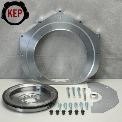 Kennedy Engine Adapter For 1986-1995 Chevy 4.3 Liter V-6 Or Small Block 350 To 091 Vw Bus 200Mm Fw