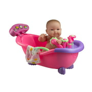 """Lots to Love Babies Electronic Sounds and Working Bath with 14"""" All-Vinyl Doll and Accessories"""