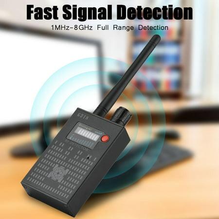 G318 Anti-spy Amplification Signal Detector 1MHz-8GHz Frequencies Full  Range Detector - US Plug, Anti Spy Detector, Bug Finder