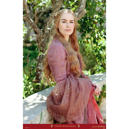 Game Of Thrones Lannister Set Cersei Tv Show Poster 17X11 Inch