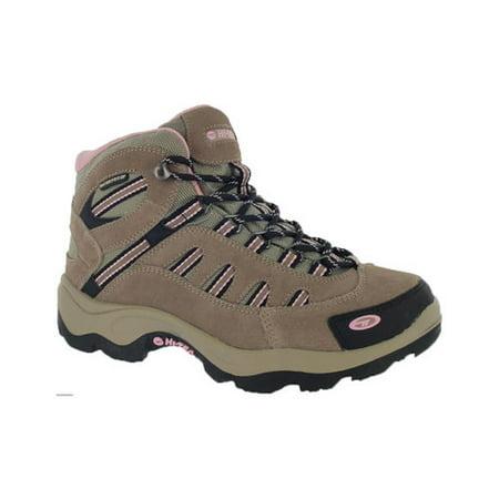 Hi Tec Magnum - hi-tec women's bandera mid waterproof hiking boot,taupe/blush,9.5 m us
